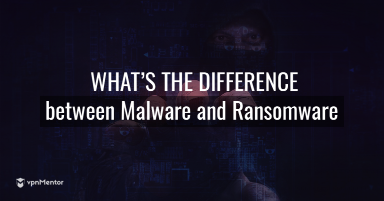 What's the difference between malware and randsomware?