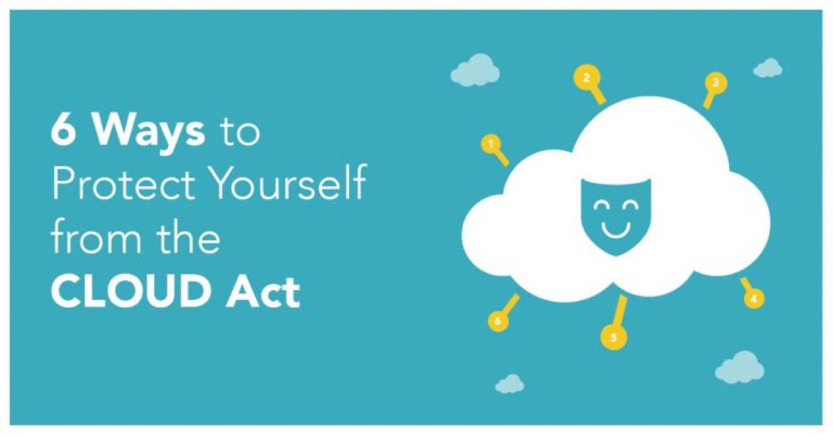 6 Moduri de a vă Proteja de Legea CLOUD